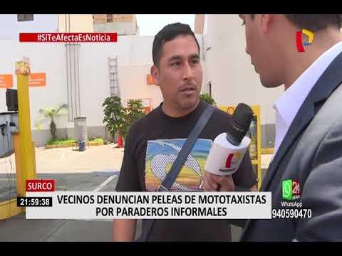 Surco: Vecinos Denuncian Constantes Robos Y Peleas De Mototaxis Informales