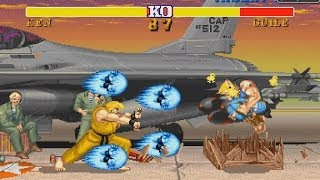 STREET FIGHTER II SHENG LONG EDITION (ARCADE CPS1) 1CC Ken Playthrough (FULL GAMEPLAY) thumbnail