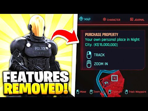 10 Features REMOVED From Cyberpunk 2077