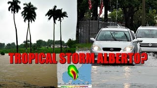 TROPICAL STORM ALBERTO HOW BAD WAS IT? SHOPPING FOR WARMER CLOTHES! | EMMA AND ELLIE