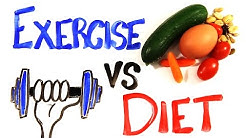 Exercise vs Diet
