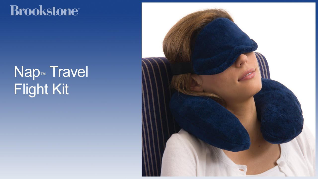2b374155d19 Nap™ Travel Flight Kit. Brookstone Inc.