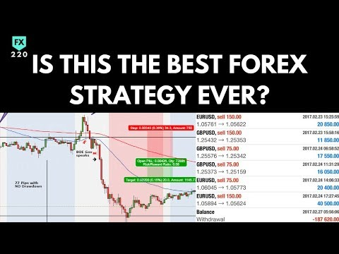 Is This The Best Forex Trading Strategy EVER? Live Trading with NO Losses + PROOF