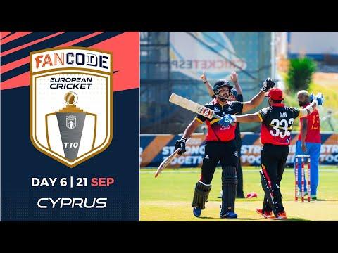 🔴 FanCode European Cricket T10 Cyprus,  Limassol | Day 6 T10 Live Cricket