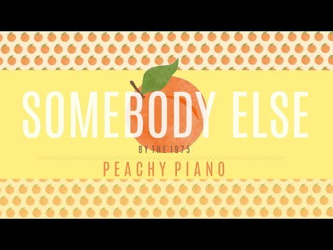 Somebody Else - The 1975 | Piano Backing Track