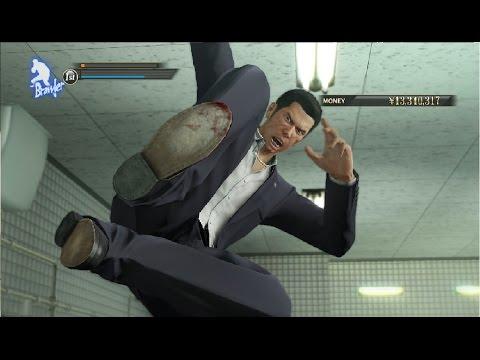 Yakuza 0 Dojima Family Fight & Daisaku Kuze Boss Fight - Sohei Dojima Appearance