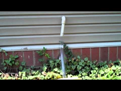 Using your air conditioner to water the garden