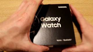 Samsung Galaxy Watch EP1 - Unboxing the all new 46mm Version Smartwatch