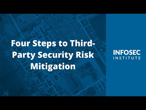 Four Steps to Third Party Security Risk Mitigation