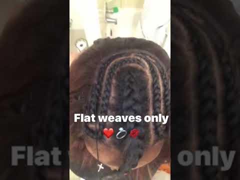 My talent , hair stylist in making❤️