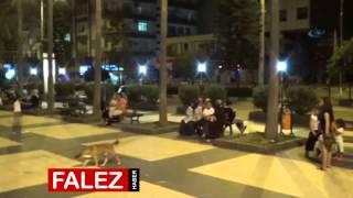 Antalya'da inanılmaz deprem anı