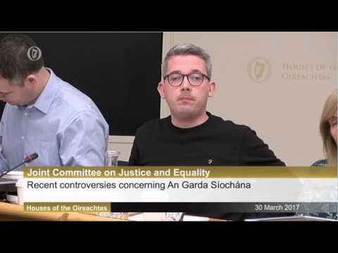 Questioning the Commissioner on latest controveries surrounding An Garda Síochána