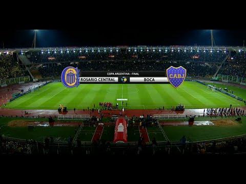 Fútbol en vivo. Boca - Rosario Central. Final Copa Argentina 2015. FPT