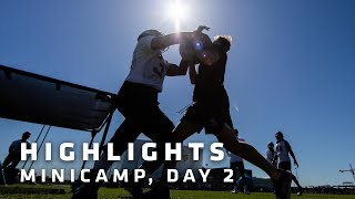 Highlights from Day 2 of Minicamp with Kirk Cousins, Stefon Diggs & More | Minnesota Vikings