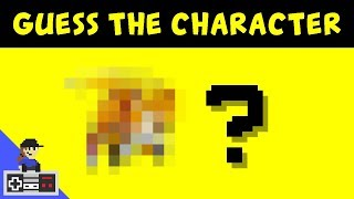 Guess the video game character by the pixels - Level UP Minigames