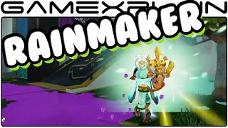 Splatoon - Rainmaker Mode Gameplay (60fps)