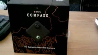 drift innovation compass wearable camera unboxing