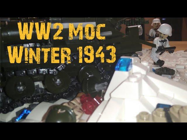 Cobi/Lego WW2 Moc - Winter 1943 [German]