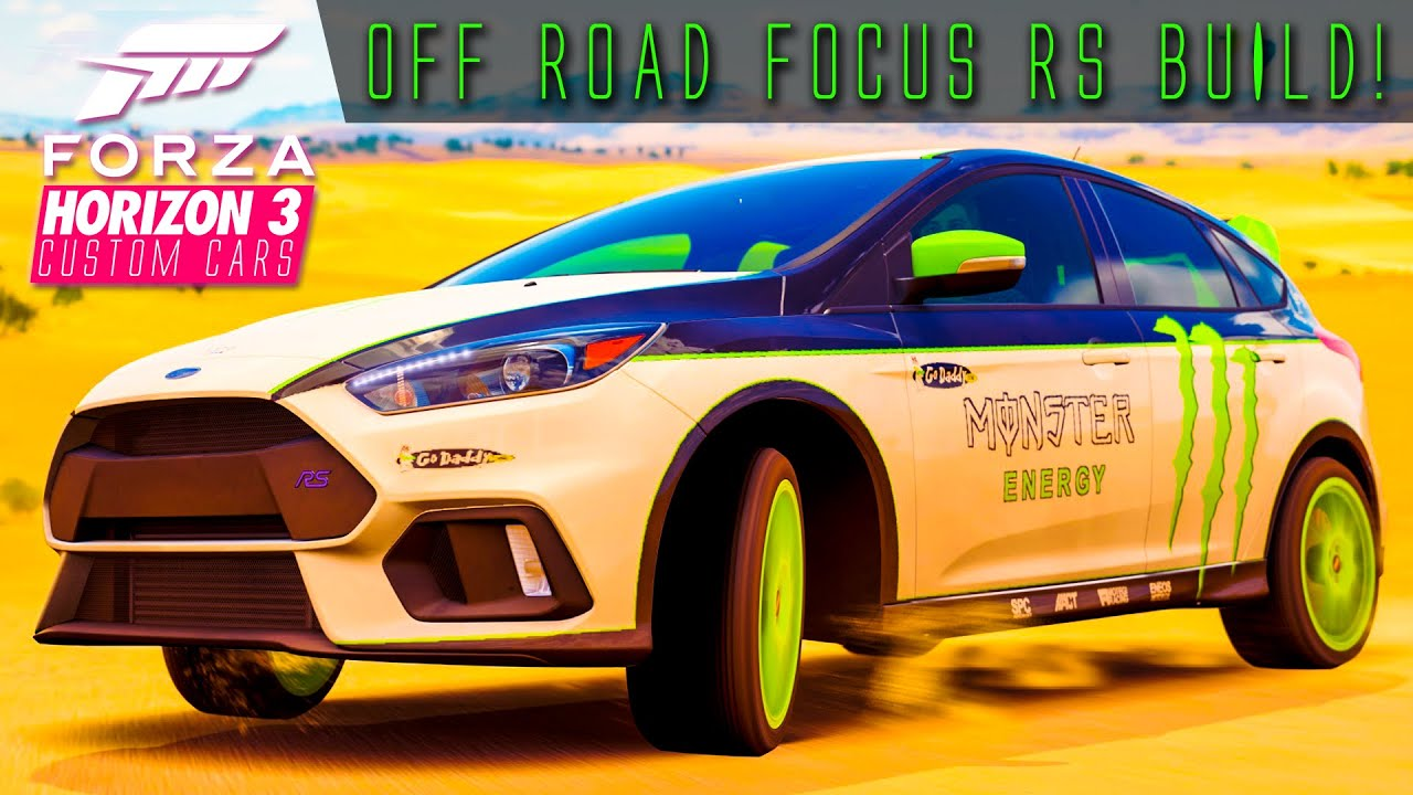 583hp focus rs off road build forza horizon 3 custom cars 6 youtube. Black Bedroom Furniture Sets. Home Design Ideas