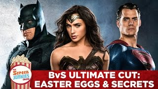Batman v Superman Ultimate Cut - Easter Eggs and Secrets