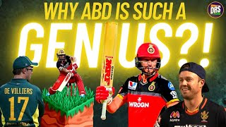 Why is AB de Villiers such a genius?
