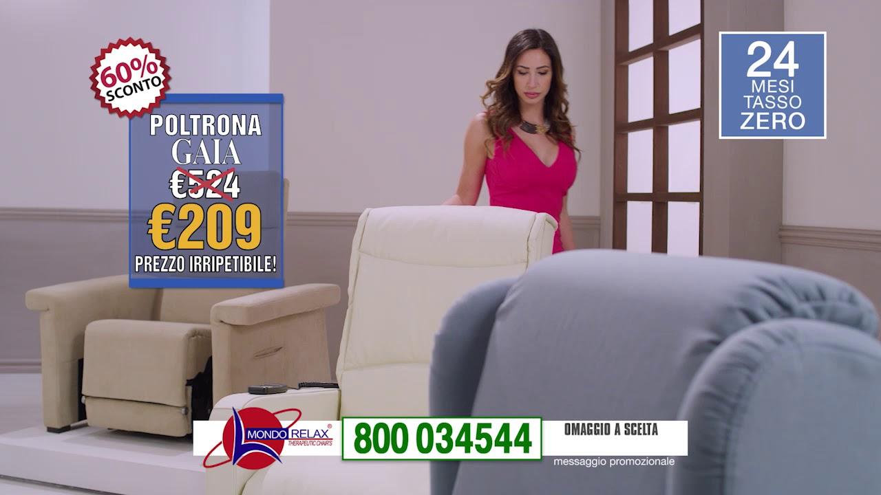Mondo Relax Poltrone Prezzi.Mondorelax Aprile 2019 30sec Youtube