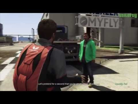 GTA 5 - PS3 - Strangers and Freaks Mission #13 - Liquidity Risk [100% - Gold Medal]