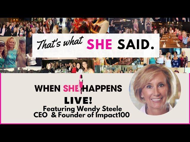 #WSH When She Happens-