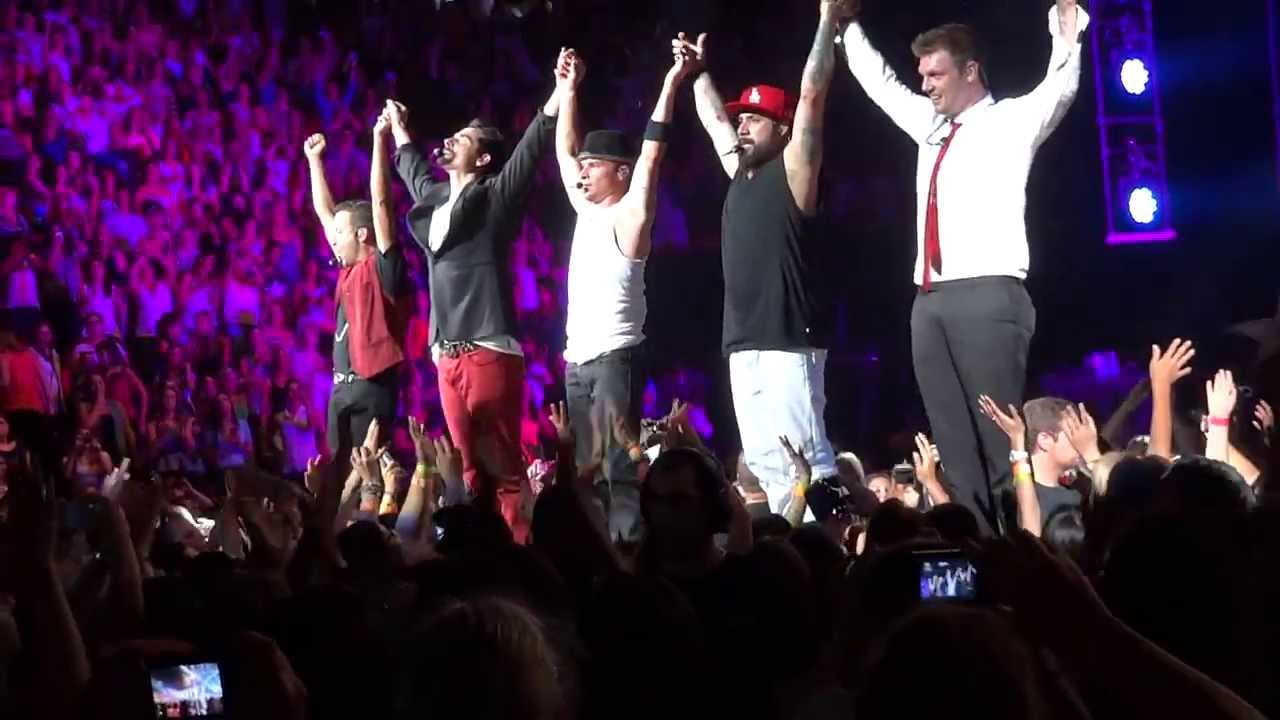 In A World Like This Tour Backstreet