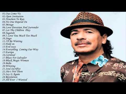 Top 25 Greatest Hits Of Carlos Santana  ||  Best Songs Of Carlos Santana