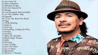 Top 25 Greatest Hits Of Carlos Santana  ||  Best Songs Of Carlos Santana