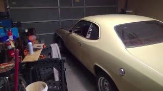 A-833 manual transmission swap into a 1973 Hillbilly Plymouth Duster