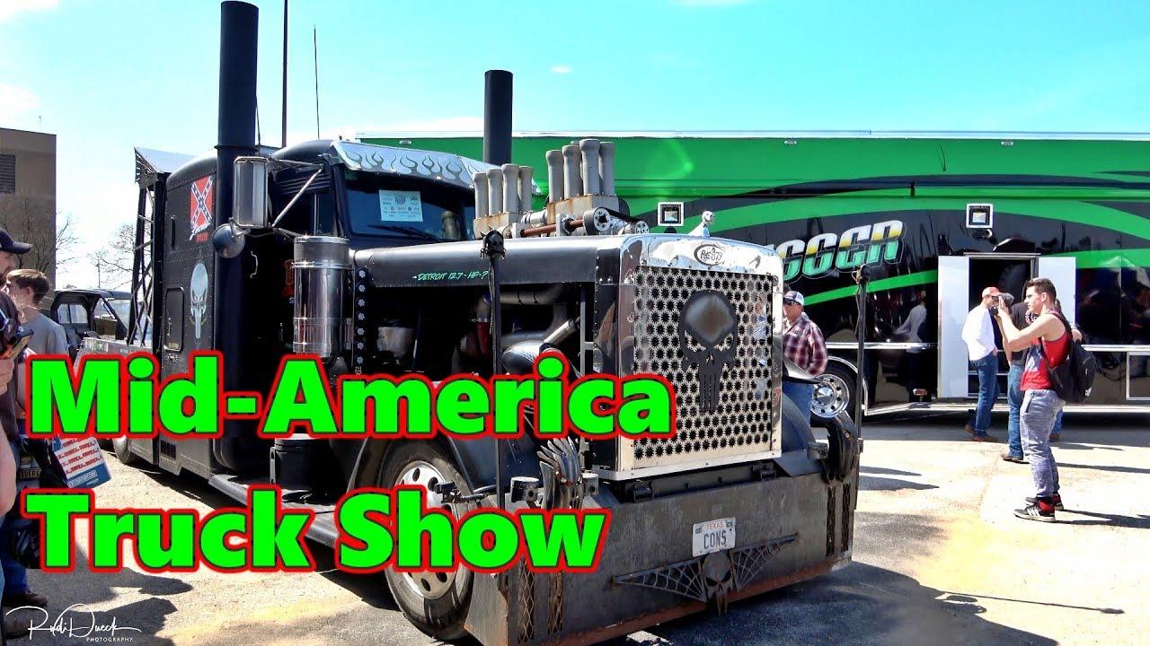 Louisville Truck Show 2020.Biggest Truck Show Mid America Truck Show 2019 Day 1 Mats 2019 Trucker Rudi 03 28 19 Vlog 1726