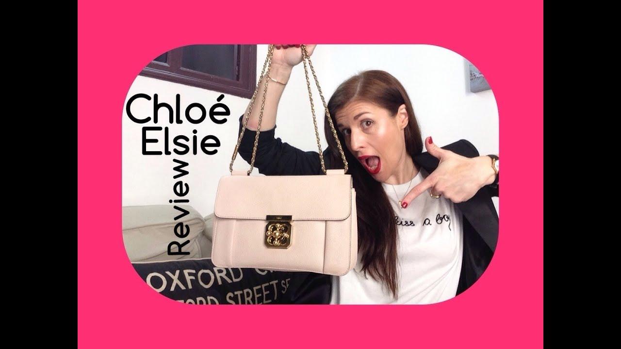 chloe handbags fake - CHLOE ELSIE designer HANDBAG review (medium, pink and 8 months old ...