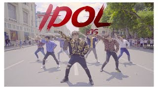 [KPOP IN PUBLIC] #IDOL CHALLENGE- BTS Dance Cover By S.A.P From Vietnam
