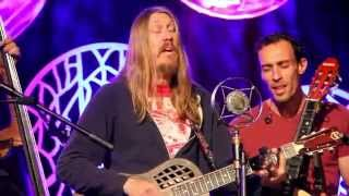 "The Wood Brothers - ""Never And Always"" - Radio Woodstock 100.1 - 10/6/15"