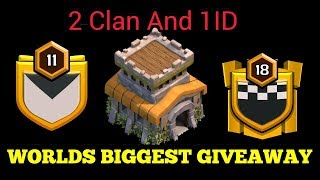 Clan Lelo Bhailog + TH8 Id Bhi || Join Fast || Road To 5000 Subscribers ||