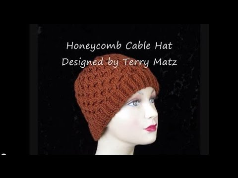 Knitting Honeycomb Hat Youtube