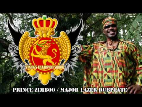 Prince Zimboo / Major Lazer VIKINGS CHAMPION SOUND DUBPLATE