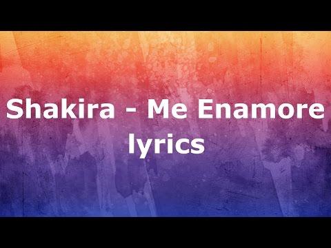 Me Enamore - Shakira  Lyrics (English)