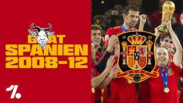 Spanien 2008-2012: Wie La Furia Roja 3 Titel in 4 Jahren holte! Onefootball GOATs