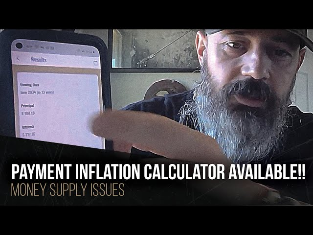 Payment inflation calculator available!!