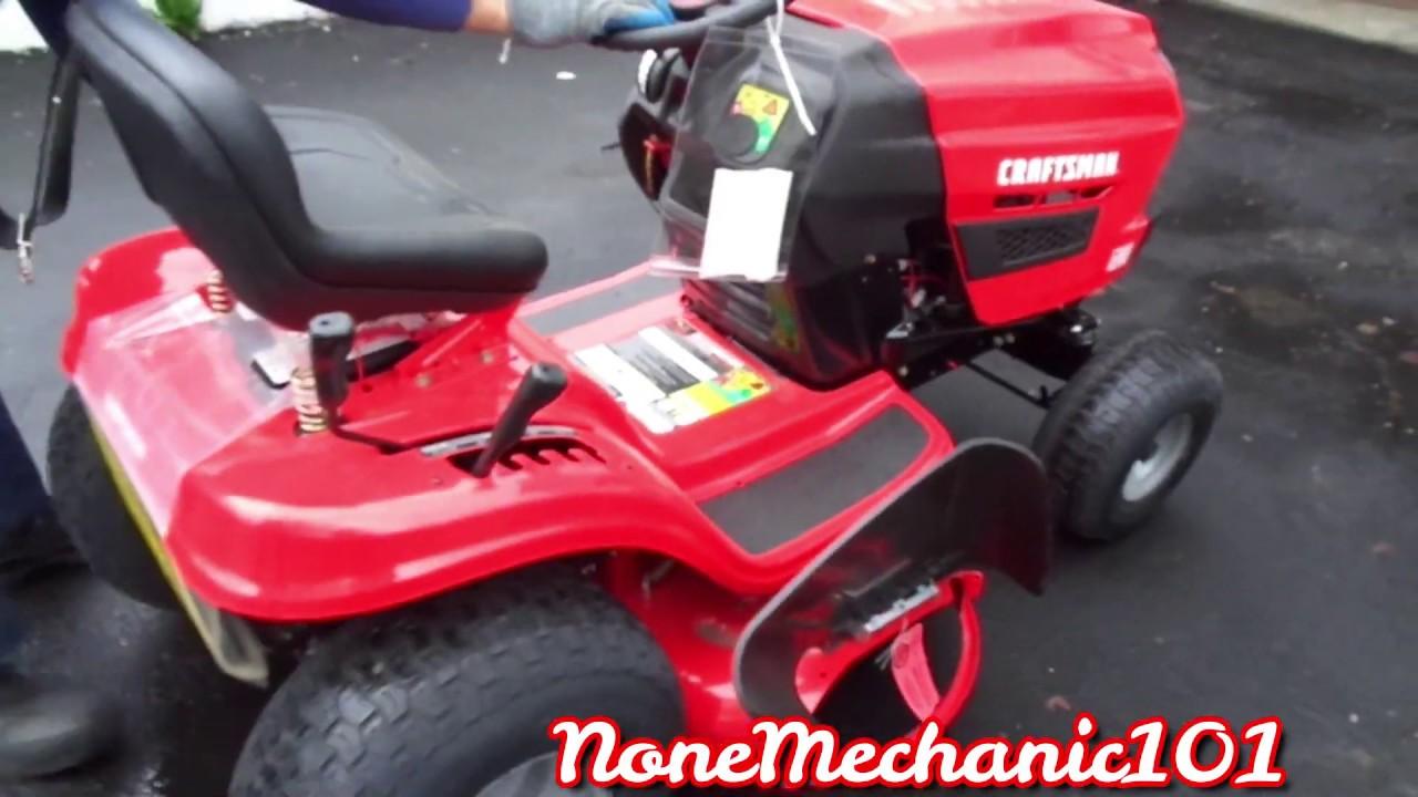 Craftsman T110 Lawn Mower