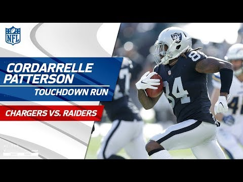 Cordarrelle Patterson's Blistering Jet Sweep TD vs. LA! | Chargers vs. Raiders | NFL Wk 6 Highlights