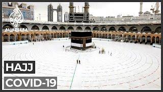 Muslims begin downsized Hajj pilgrimage amid coronavirus pandemic