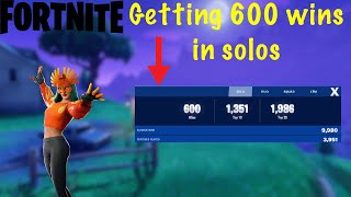 Fortnite Mobile-Getting my 600 wins on solos