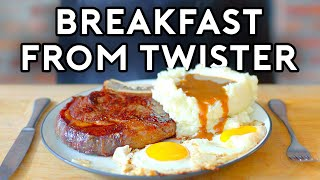 Binging with Babish: Steak, Eggs and Gravy from Twister