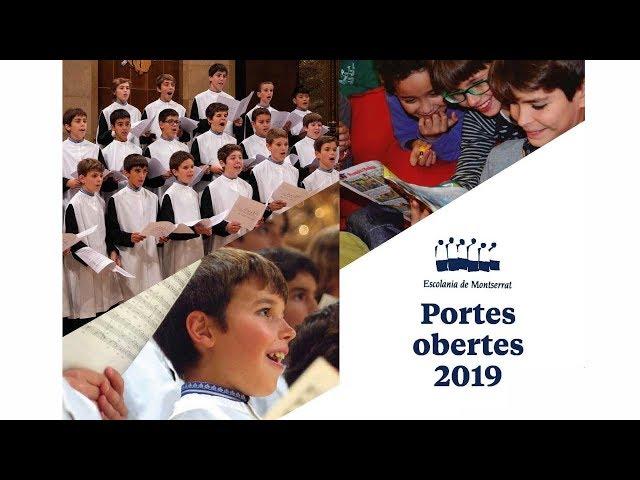 Escolania de Montserrat: Jornada de portes obertes (3 de març de 2019)