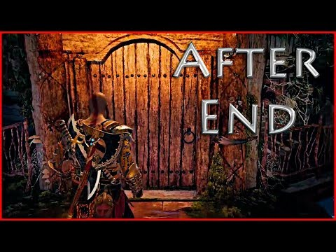 Kratos tries to meet Freya after the End | God of War Ending