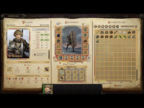 Pathfinder Kingmaker - Shelyn's Chosen - Valerie Quest - duel with Fredero - easy victory. |